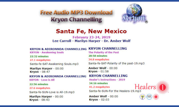 Kryon Channelling Santa Fe New Mexico February 2019
